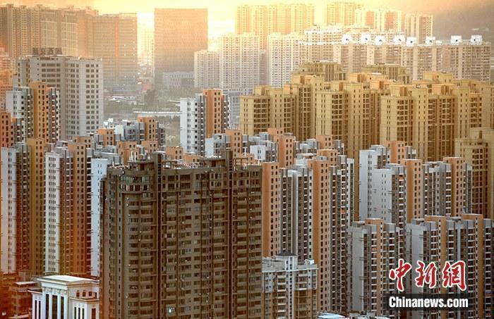 資料圖:房地產樓盤。<a target='_blank' href='http://www.chinanews.com/'>中新社</a>記者 張斌 攝